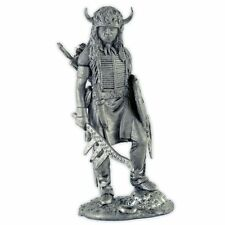 USA. Indian - Sioux, 19 century. Tin toy soldiers 54mm metal sculpture