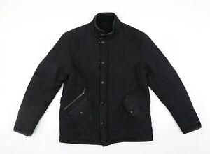 Barbour Mens Black   Quilted Jacket Size L