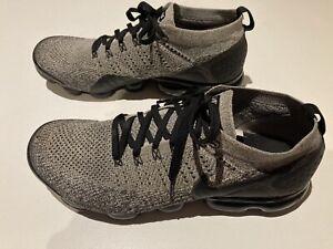 Nike Air Vapormax Flyknit 2, Black/Grey, Mens Sz 13 Good condition.
