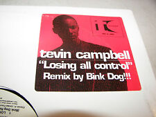 "TEVIN CAMPBELL LOSING ALL CONTROL 12"" Single NM Qwest PRO-A-9860 1999 PROMO"