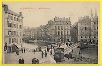 cpa de 1905 BAYONNE Pyrénées Atlantiques PONT MAYOU Bains Douches Eaux d'URSUYA