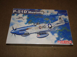 Dragon 1/32 P-51D Mustang Warbird Series WWII USAAF Fighter Highly Detailed 3201