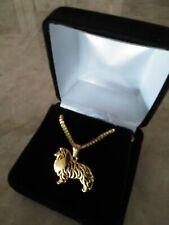 Shetland Sheepdog Sheltie Dog Necklace