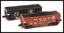 Z scale Full Throttle Csx Heritage 33' Hopper Set