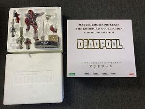 DEADPOOL fine art statue~Kotobukiya~X-Men~Marvel~Sideshow~Wade Wilson New