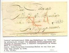 NEDERLAND 1803 LC  PM =MIDD =  a.z. STEMPEL GENERAAL OSTEN-- VW PR EX