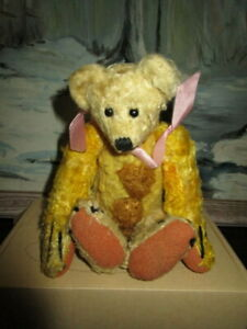 """Antique Teddy bear with hump- 8 """" -Germany"""