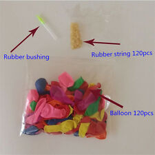 120Pcs Water Bombs Mixed Colorful Water Balloons For Party Children Kid Sand Toy