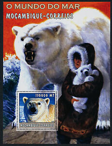 Mozambique 1686 MNH Polar Bear