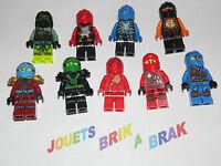 LEGO Minifig figurine personnage Ninjago  Ninja-Go ninja go  choose model  KG 02