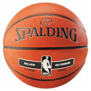 Spalding NBA Silver outdoor Basketball - Gummi