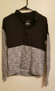 SO Brand Black And Gray Pullover Sweatshirt - Size Small - Great Condition!