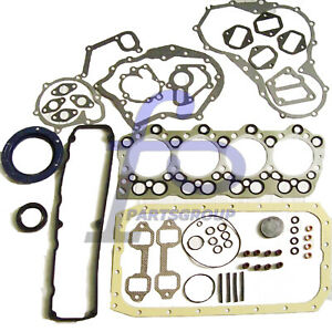 Full Gasket Kit Head Gasket For Mitsubishi FUSO CANTER FB 4D30 3.3L