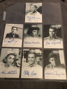 Twilight Zone Series 1 Autograph Cards Seven In Total
