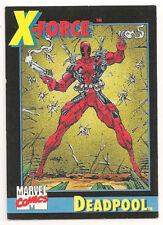 Deadpool  X-Force  #3   1991 Impel   NICE!!!!