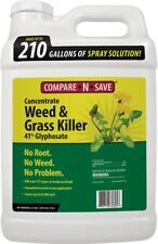 Compare-N-Save Grass and Weed Killer 2.5 Gal Glyphosate Concentrate Garden Lawn
