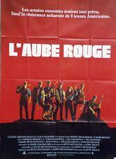 """L'AUBE ROUGE (RED DAWN)"" Affiche originale (John MILIUS / Patrick SWAYZE)"