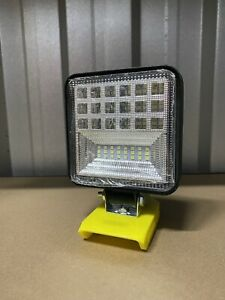 DIY 18v 42 LEDs 2800LM Work Light /Torch/Camping Light 1800LM for Dewalt battery