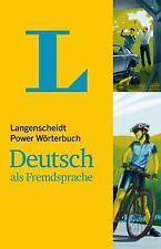 Langenscheidt Power Wörterbuch Deutsch Als Fremdsprache : DEUTSCH-DEUTSCH...