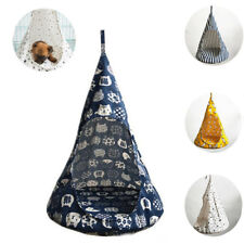 Removable Pet Hanging Bed House Conical Hammock Washable Cat Tent Small Dog Nest