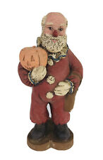Sarahs Attic Halloween Santa Resin Collectible Figurine 1988 #A496 Christmas