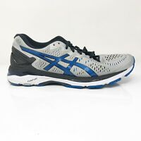 Asics Mens Gel Kayano 23 T648N Gray Blue Running Shoes Lace Up Size 8.5 4E
