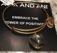 Alex and Ani Crystal Bracelet Russian Gold Ltd Edition Exclusive Style NWT