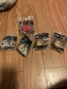 McDonald 2019 Star Wars Kids Happy Meal Toys Backpack Key Chain Lot of 5
