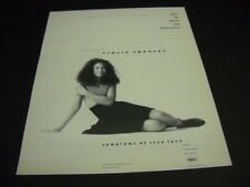 Tracie Spencer 12 Years Old From Waterloo, Iowa original 1988 Promo Poster Ad