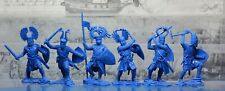 NEW!!! Collectible Plastic Toy Soldiers Publius German knights set 3 1:32 54 mm