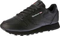 Reebok Women's Classic Leather Sneaker, Int-black, Size 10.5 sxAn
