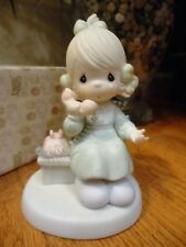 Precious Moments Figurine Tell It To Jesus 1989 521477 Girl on Phone Mib
