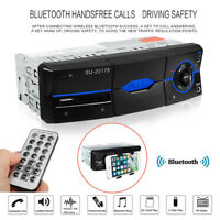 Bluetooth Auto Car Stereo 1 DIN FM Radio SD/ USB/ AUX-IN MP5 MP3-Player LED 12V