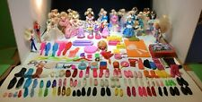 183~Items~Barbie~1990s~25 McDonald Dolls~4 Stampers~Shoes~Sunglasses ~Radios~Food