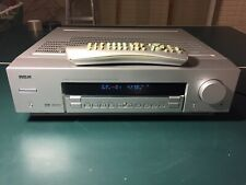 RCA Home Theater Audio Video Receiver RT2360B Tested Working W/ Remote Bundle