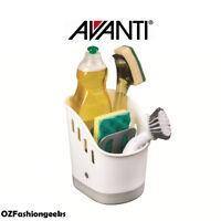 Avanti Sink Tidy Dish Cleaning Basket Holder Sponge Rack storage 12665 PI