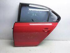 11 - 18 Volkswagen Jetta Wolfenstein 4Dr Rear Driver Door 5C6-833-055-F Red