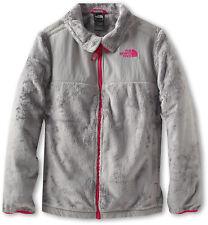 The North Face Denali Thermal Fleece Jacket Girls Metallic Silver Pink XS 6 $99