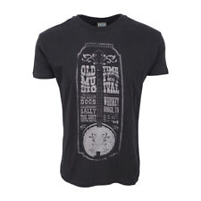 TOO FAST MENS OLD TIMES BLACK T SHIRT