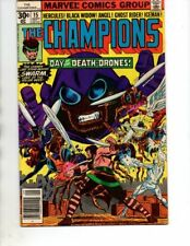 The Champions#15(Marvel 1977) Ghost Rider,Black Widow,Hercules,Angel,Iceman,FN+