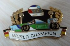 PIN'S F1 FORMULA ONE MICHAEL SCHUMACHER BENETTON MILD SEVEN WORLD CHAMPION 1994