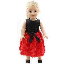 "Fits 18"" American Girl Madame Alexander Handmade Doll Clothes dress MG124"