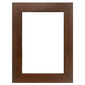 """US Art Frames 1.25"""" Flat Country Walnut Brown MDF Wall Decor Picture Frame S-B"""