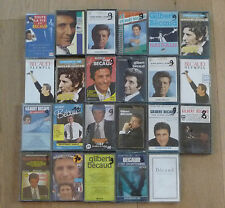 Lot de 23 Cassettes Tape K7 GILBERT BECAUD