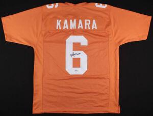 Alvin Kamara Signed Tennessee Volunteers Jersey (Beckett COA) Saints Star R.B.