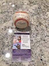 EARLY VLADIMIR GUERRERO WILTON BROTHERS MLB AUTOGRAPHED BASEBALL BALL PSA COA