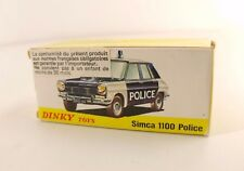 Boite seule Dinky Toys F n° 1450 Simca 1100 Police Box only
