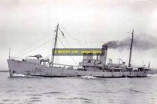 rp13567 - Royal Navy Trawler - HMS Agate , built 1934 ex Mavis Rose - photo 6x4