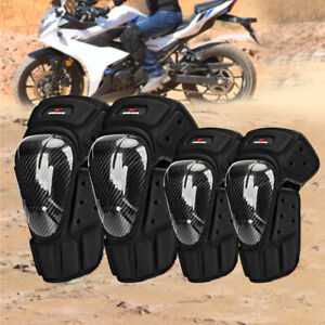 Motorcycle Knee Pads Elbow Brace Motocross Racing BMX Leg Arm Support Gear Guard