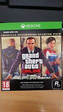 Grand Theft Auto GTA V 5 xbox one Online Criminal Enterprise Starter Pack dlc